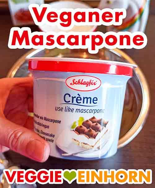Ein Becher veganer Mascarpone von Schlagfix