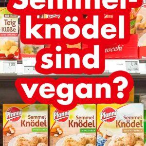 Semmelknödel im Supermarkt